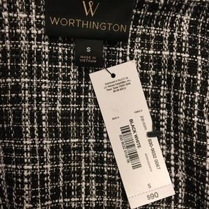 Worthington Jackets & Coats - NWT Worthington Tweed Jacket